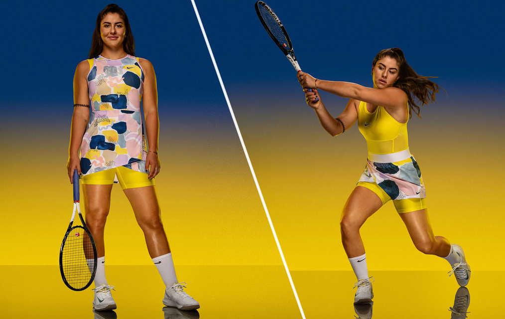 Bianca Andreescu Australian Open Nike outfit