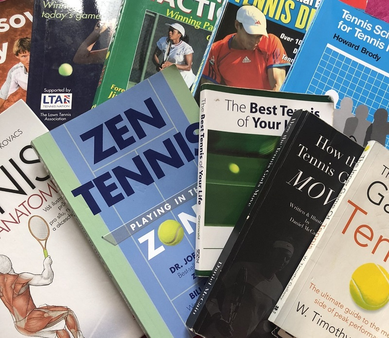 tennis books