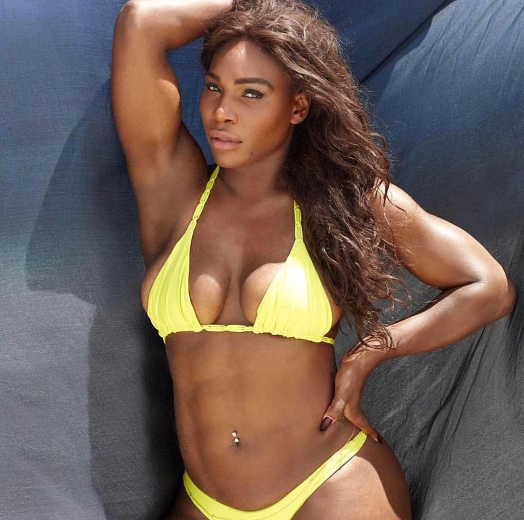 Serena Williams abs