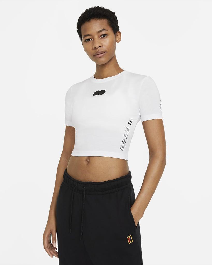 Nike Cropped-Tennis-T-Shirt