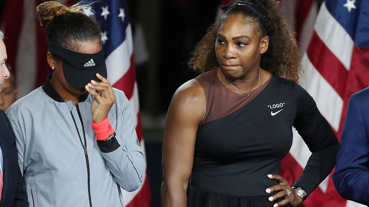 Naomi Osaka and Serena Williams