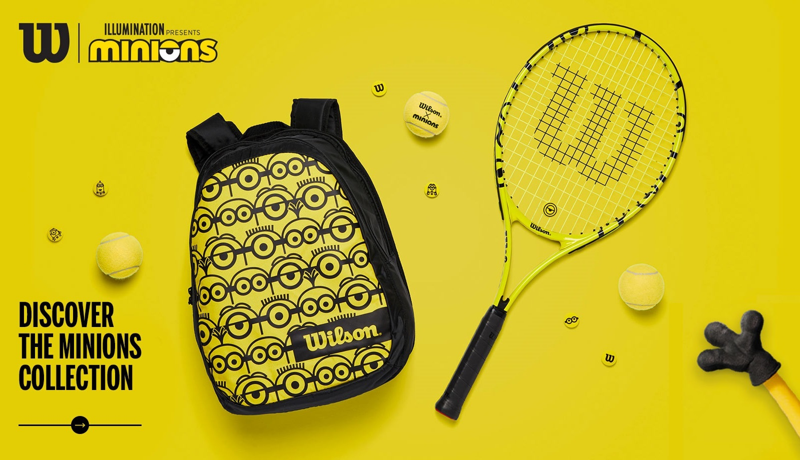wilson collaborates with minions