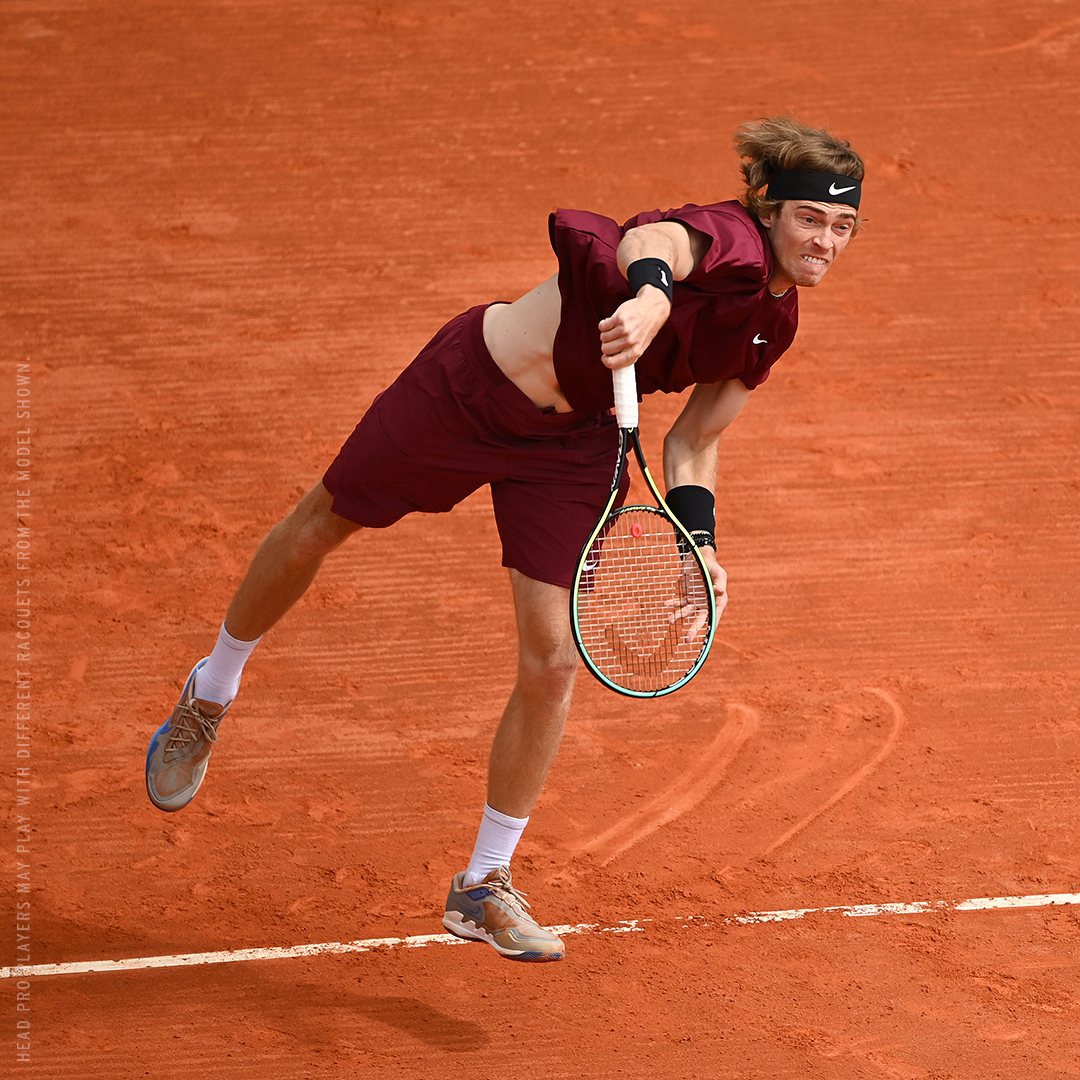 Andrey Rublev and HEAD 2